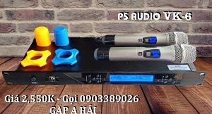 Micro không dây PS Audio VK-6 mẫu 2021, tiếng phát rõ, âm thanh hay