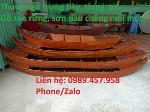 Cung cấp xuồng gỗ, thuyền gỗ giá rẻ
