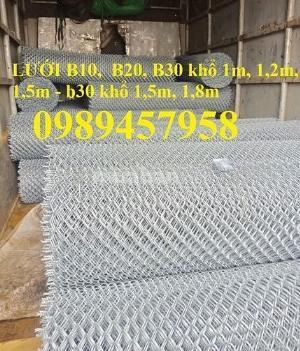 Chuyên sản xuất lưới b10 ô 10x10, B20 ô 20x20, B30 ô 30x30