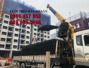 Bán Lưới thép hàn đổ sàn phi 4 ô 150x150, 200x200, 250x250 giao hàng ngay