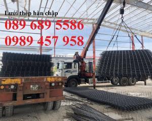 Nơi sản xuất lưới thép phi 10 ô 200x200, 250x250, 100x200, D10 a 200x200, Phi 12 a 200x20