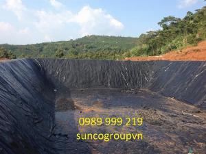Bạt Nhựa hdpe 0.3mm cuộn 400m2 khổ 4x100m Lót Bãi Rác-Cty Suncogroup Việt Nam 2021
