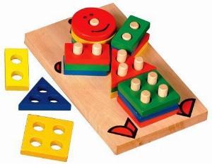 Lắp ráp hình học cho bé vui chơi an toàn