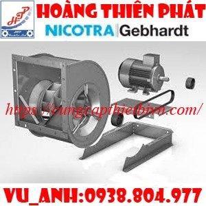 Quạt công nghiệp Nicotra Gebhardt