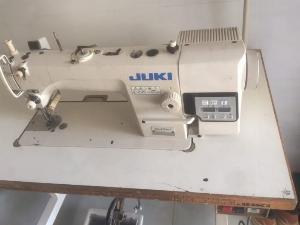 Cần thanh lý máy may 1 kim điện tủ cắt chỉ lại mũi tự động 8700A hàng nhật bãi