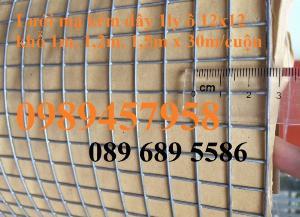 Lưới chắn chuột, Lưới thép phi 2, phi 3, phi 4 ô 10x10, 20x20, 50x50, 100x100 theo đơn hàng