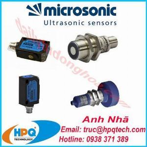 Cảm biến Microsonic | Nhà cung cấp Microsonic Việt Nam