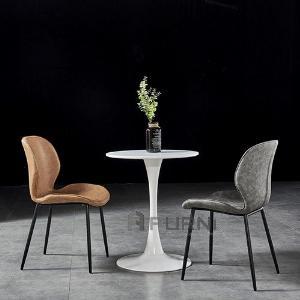 Bộ bàn ghế tiếp khách 2 ghế tròn 80 cm TULIP 2-08C/LUX 9A-P hiện đại giá rẻ TpHCM