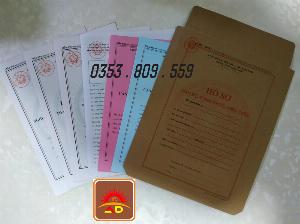Mẫu B07 - BNV hồ sơ cán bộ công chức viên chức