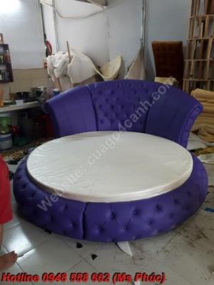 Thanh lý giường tròn giá rẻ, giường mới bán rẻ như cho tp hcm