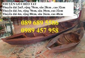 Những mẫu thuyền gỗ đẹp trang trí nhà hàng, Thuyền gỗ bày hải sản
