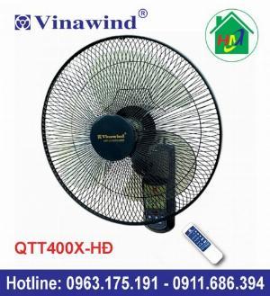 Quạt Treo Tường Điều Khiển Từ Xa Vinawind QTT400X-HĐ