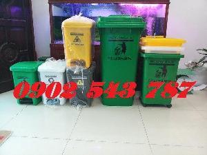 Thùng rác y tế màu vàng chất lượng hàng đẹp