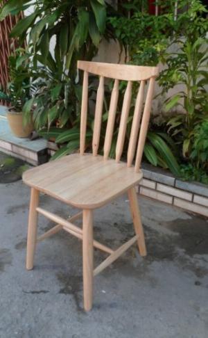 Ghế gỗ cao su cao cấp mẫu đẹp Ak005