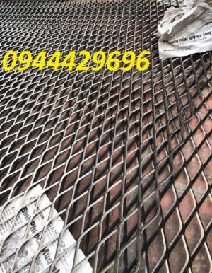 Lưới thép trang trí hàng rào, Lưới hình thoi, Lưới mắt cáo 20x40, 30x60 x 3ly