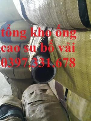 Chuyên cung cấp ống cao su bố vải phi 19, 22, 25, 27, 30 phân phối toàn quốc