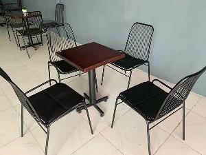 Ghế sắt cafe ngoài trời giá rẻ tphcm
