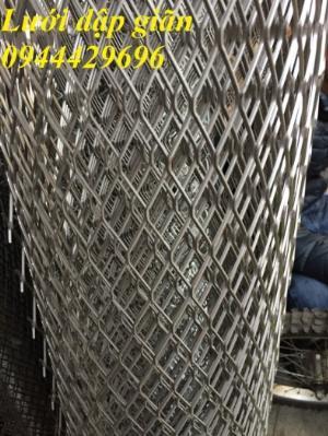 Lưới mắt cáo, lưới hình thoi 10x20, 20x40, 30x60, 45x90, 22x60, 36x101 sẵn kho