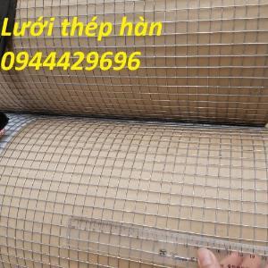 Lưới thép hàn dây 1.5ly ô 12x12 khổ 1m,1.2m  mạ nhúng nóng