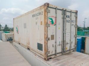 Container lạnh 20feet Nhật Bản