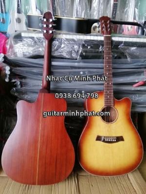 Thật dễ dàng sỡ cây đàn guitar đẹp tuyệt tại quận Bình Tân chỉ 690k