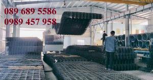 Sản xuất Lưới thép hàn phi 10 ô 200x200 ,lưới hàn chập phi 10 ô 200x200