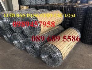 Lưới thép hàn dây 1ly, Lưới mạ kẽm 2ly, Lưới làm giàn lan 3ly và 4ly ô 50x50, 100x100