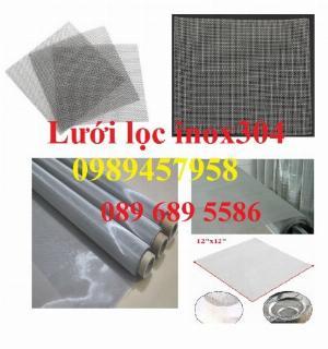Lưới inox sấy thực phẩm, Lưới chống muỗi, Lưới lọc thực phẩm inox316, inox 201
