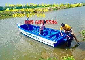 Cano 2-4 người gắn động cơ, Cano lướt sông, vịnh, áo phao