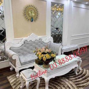Sofa cổ điển - bộ bàn ghế sofa tân cổ điển cao cấp Q1 Q2 Q7 Q9