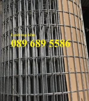 Lưới mạ kẽm phi 2 ô 25x25, 50x50, Lưới thép dây 1ly ô 10x10, 20x20