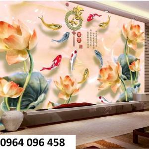 Gạch 3d tranh hoa giả ngọc - tranh gạch 3d giả ngọc - 63AM