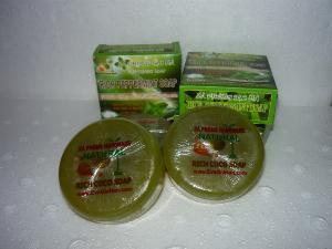 Sản xuất xà bông bạc hà dầu dừa nguyên chất Rich Peppermint Soap