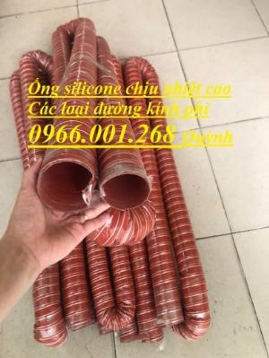 Tổng kho ống silicone chịu nhiệt cao phi 100,phi 125,phi 150,phi 200 và các loại khác giá rẻ