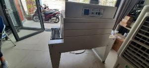 Máy rút màng co PVC/POF, máy rút màng co hộp, máy đóng gói màng co hộp trà thuốc bán tự động
