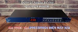 Quản lý nguồn Điện Sequence Power 8 cổng giá rẻ bán tại Điện Máy Hải