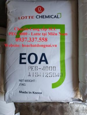 Bán hóa chất PEG 4000 tại Đồng Nai, Bình Dương, Sài Gòn, Tây Ninh, Bình Phước, Vũng Tàu