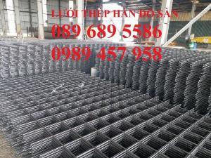 Nơi sản xuất Lưới thép phi 8 a 200x200 và Thép phi 10 a 200x200, D10 a 200x200
