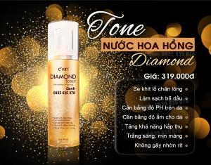 Nước hoa hồng - Toner diamond cvin