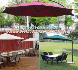 Mẫu dù che nắng, che mưa lệch tâm hàng chất lượng nhất quận 12 - LH : 0989 953 508 - 0908 686 217