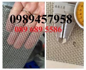 Lưới inox 304 chống côn trùng - Lưới inox 304 lưới dệt - lưới inox sấy thực phẩm