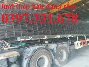 Lưới thép hàn, lưới thép hàn ô vuông phi 4 a200x200 dạng tấm, dạng cuộn giá rẻ