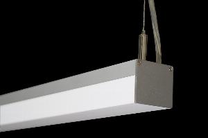 Đèn led thanh treo 3 mặt chiếu siêu sáng màu 6500k