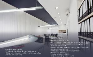 Đèn led thanh treo Oval 36W cho văn phòng