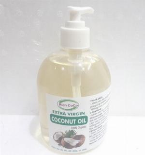 Mua dầu dừa Dầu dừa hữu cơ Bến Tre ép lạnh nguyên chất