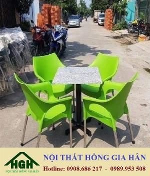 Sale off Bàn ghế cafe giá rẻ HGH914
