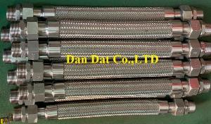 Ống mềm công nghiệp dẫn khí, Dây nối mềm kim loại