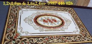 Thảm gạch lát nền nhà hoa văn HP5019