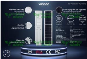 Đèn năng lượng mặt trời VK300C