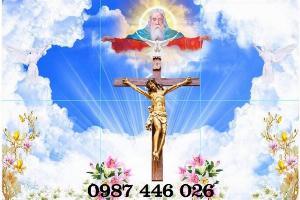 Tranh gạch men Chúa Giêsu Hp5193